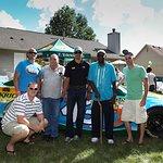 NASCAR Driver Aric Almirola Surprises Military Families