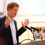 Prince Harry Visits Charity Photo Exhibition