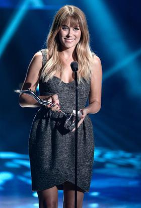 SodaStream Honors Lauren Conrad with the first SodaStream UnBottle the World Award for her environmental commitment to creating solutions for a more sustainable tomorrow at the Young Hollywood Awards