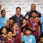 FC Barcelona Stars Visit Thailand With UNICEF