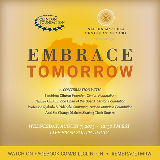 Embrace Tomorrow with Bill Clinton