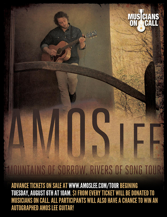 Amos Lee on Tour