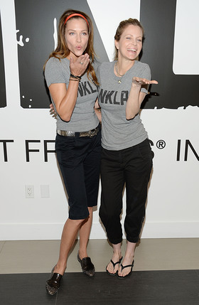 Tricia Helfer and Kristin Bauer at NKLA Event