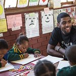 NBA All-Star Kyrie Irving Visits South Africa With UNICEF