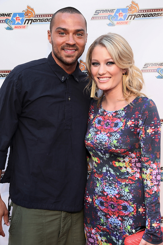 """Jesse Williams and Ashley Hinshaw at the Hollywood Premiere of """"Snake and Mongoose"""" benefitting The Leukemia and Lymphoma Society"""