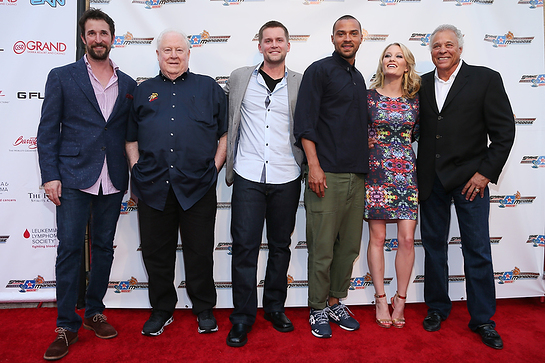 Noah Wyle, Tom Mongoo$e McEwen, Jesse Williams, Ashley Hinshaw, Ashley Hinshaw and Don The Snake Prudhomme