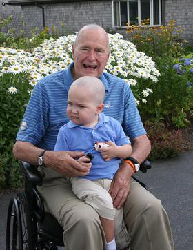 George H. W. Bush has been named the first Honorary Ambassador to the Be Bold, Be Bald! movement taking place across the nation on October 18th, 2013 to help support cancer awareness.