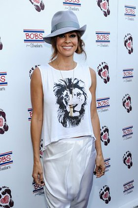 Brooke Burke-Charvet at BOBS Shoes Event