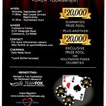 Michael J. Fox Foundation Teams Up With Poker Tournament