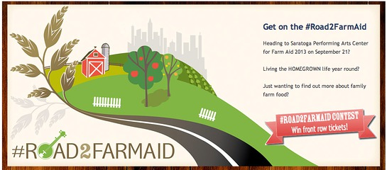 Join the #Road2FarmAid