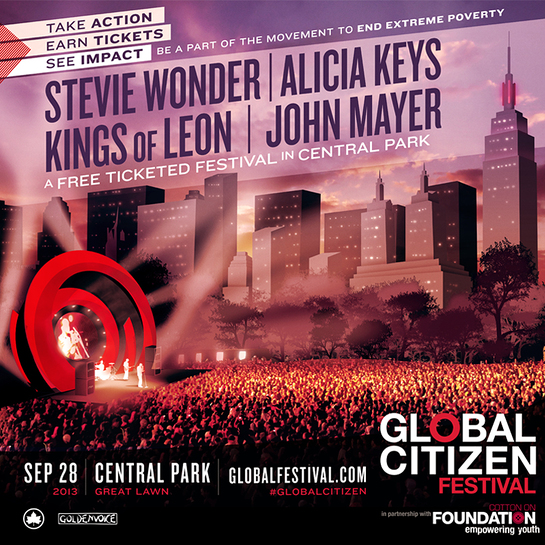 Somaly Mam Foundation is proud to be a part of the Global Citizen Festival.