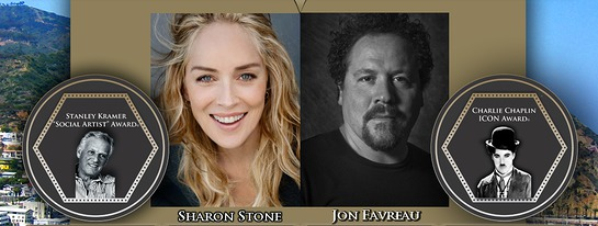 Sharon Stone and Jon Favreau will be in attendance.