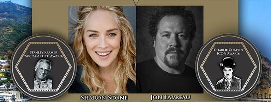 Sharon Stone and Jon Favreau will be in attendance.