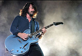 Dave Grohl will perform an acoustic set at the event.