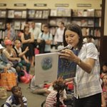 Julia Jones Reads to Children in Memory of 9/11 Victim