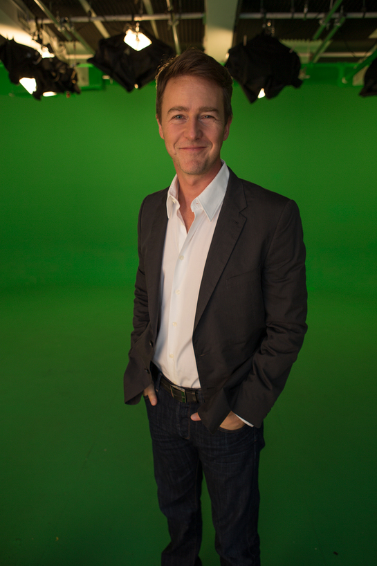 Edward Norton says no to ivory.