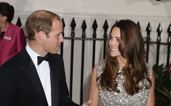 The Duke and Duchess of Cambridge arrive at the Tusk Conservation Awards in London