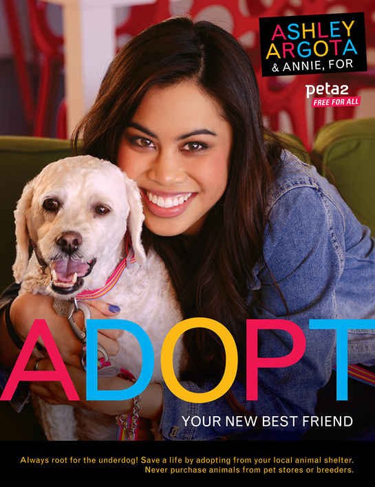 Ashley Argota PETA PSA