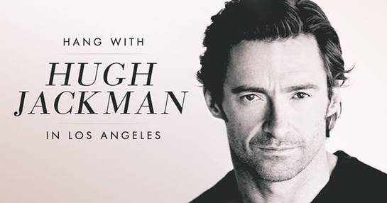 Hang With Hugh Jackman