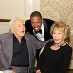 Kirk Douglas Honors Nick Cannon At LA Mission Gala