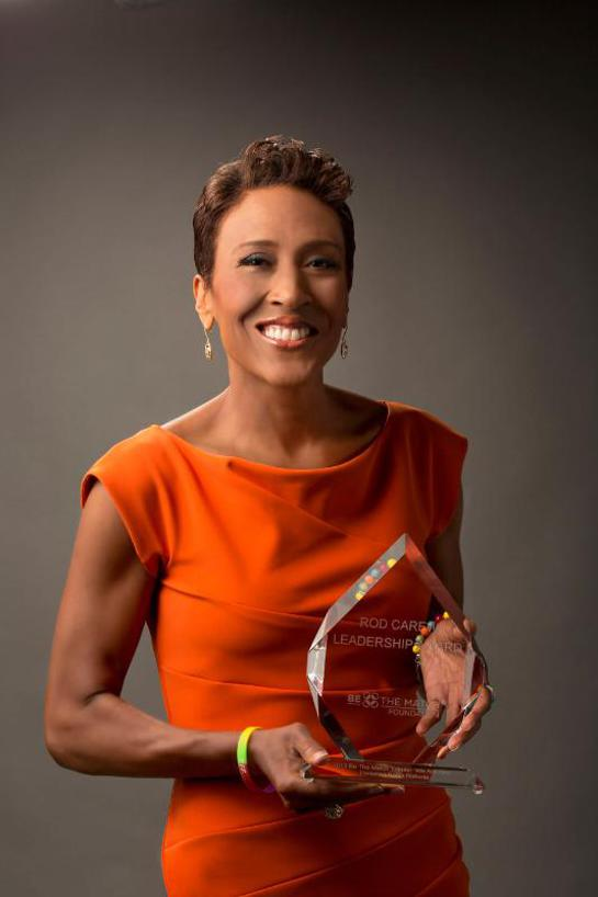 Be The Match Honors ABC's Robin Roberts with its Rod Carew Leadership Award