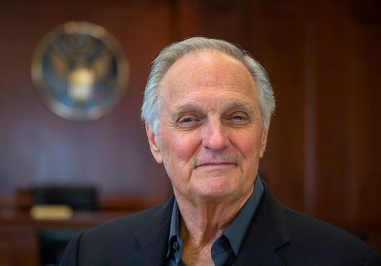 "M*A*S*H star Alan Alda raised awareness of the stresses of war when he played Hawkeye Pierce, a military doctor stationed at the ""4077th Mobile Army Surgical Hospital"" in South Korea."