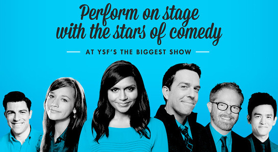Perform With The Stars Of Comedy