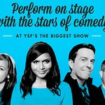 Perform On Stage With The Stars Of Comedy