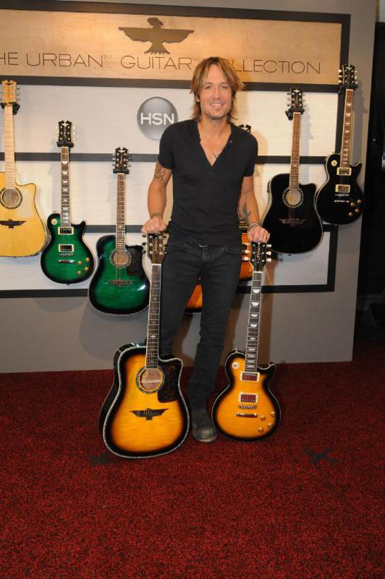 Keith Urban Announces The World Premiere Of The URBAN Guitar Collection Debuting Live On HSN November 3rd