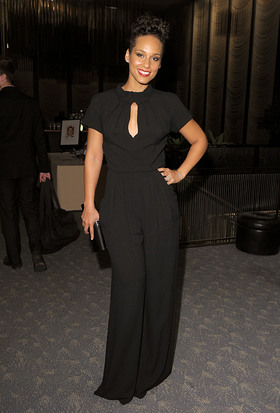 Alicia Keys at the Children's Rights Benefit