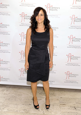 Rosie Perez at the Children's Rights Benefit