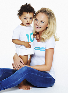 Emma Bunton launches the Pampers UNICEF Every Parent's Dream campaign