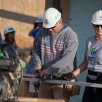 Garth Brooks Helps Jimmy Carter Build Homes With Habitat For Humanity