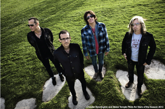 Chester Bennington and Stone Temple Pilots