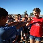 Bridgit Mendler Takes On Save The Children's World Marathon Challenge