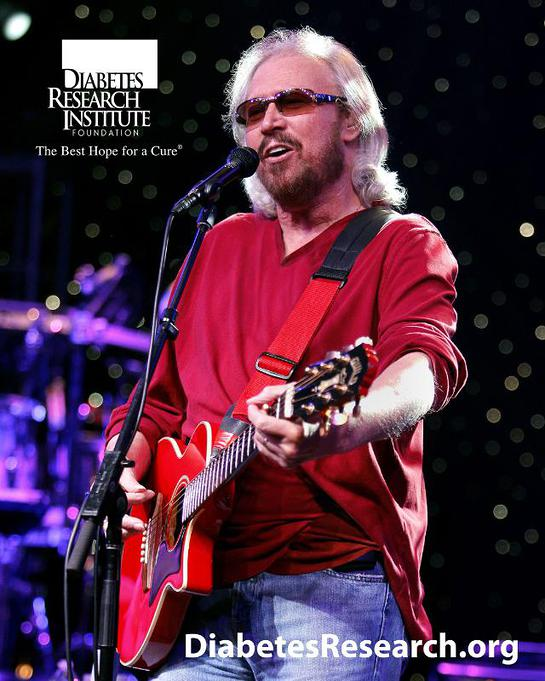 Barry Gibb and his band are scheduled to perform at the Love and Hope Ball, benefiting the Diabetes Research Institute