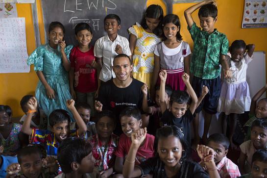 Lewis Hamilton In India