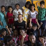 Lewis Hamilton Joins Save The Children's Education Campaign