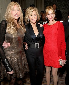 Carly Simon, Jane Fonda and Melanie Griffith at Oceana Partners Awards Gala