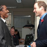 Prince William Visits Charity That Works With Former Criminals