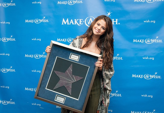 Make-A-Wish Presents Selena Gomez with the Chris Greicius Celebrity Award