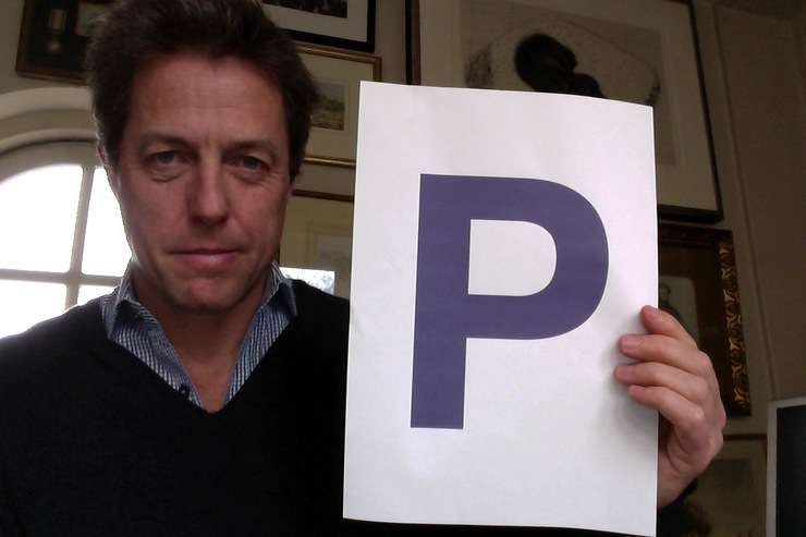 Hugh Grant Supports Pancreatic Cancer Action