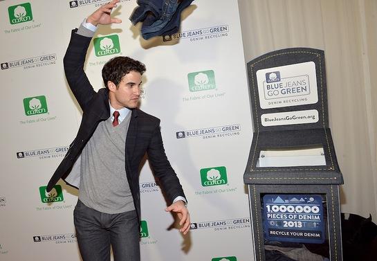 Darren Criss attends BJGG