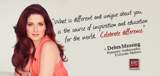 Debra Messing - Everyone Matters
