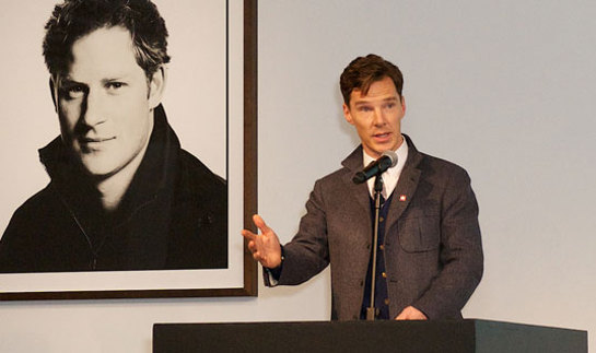 Benedict Cumberbatch Talks At British GQ's 25th Anniversary Gala Dinner