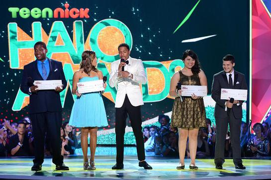 Nick Cannon honors extraordinary teens at fifth annual TeenNick HALO Awards.