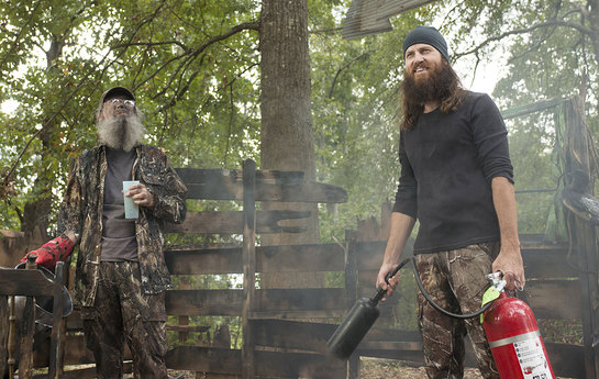 Image result for duck dynasty fire