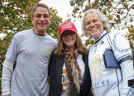 Tony Danza and Meredith Vieira lend their own Voices Against Brain Cancer on Sunday, November 17th at the Join the Voices! Run/Walk in Central Park.