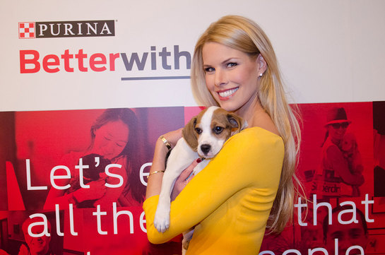 Beth Stern, pet advocate and author of NY Times Best Selling book Oh My Dog, spoke about her experiences with fostering pets at the Purina Better With Pets Summit.