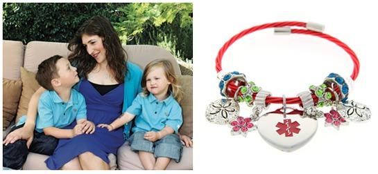 Mayim Bialik's Charity Bracelet